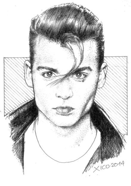 portrait of johnny depp by fcarlos on stars portraits 3